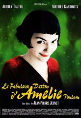 Amelie, a sweet little movie, with a big 'o' in the middle.