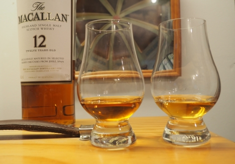 Macallan 12 (l) vs. Bunnahabhain 12 (r)