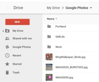 Google Drive - photos here!