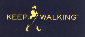 Johnny Walker logo, (c) Diageo plc.
