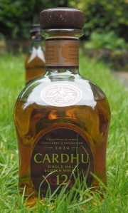 Cardhu - you can imagine a lush grassy field when tasting this whisky.