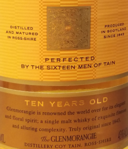 Scotch distillers load up the labels with mythology. Don't get flimflammed...it's marketing. The 16 men were grosy, grizzled and probably soused distillery workers. Nuff said.