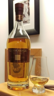 Glenmorangie 18 and glass