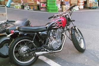 Coolest bike in Tokyo, mid-2000s.