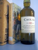 Caol Ila 12 and some old-timey books