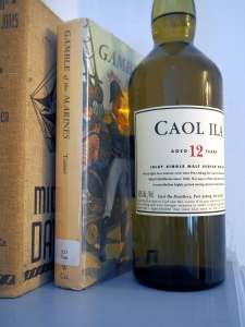 Caol Ila 12 and some old-timey books